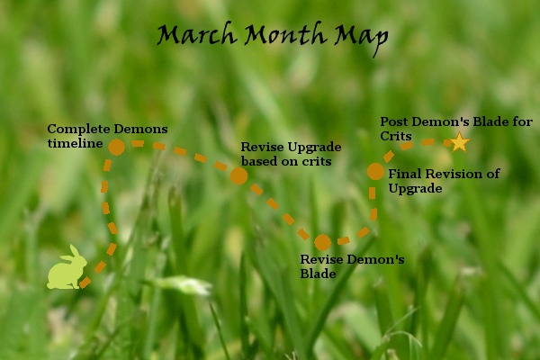 Ensign's Log, Entry 10: March Month Map!