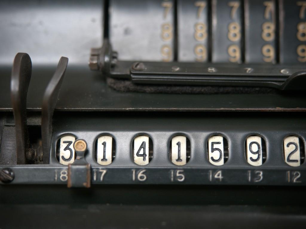 vintage calculator