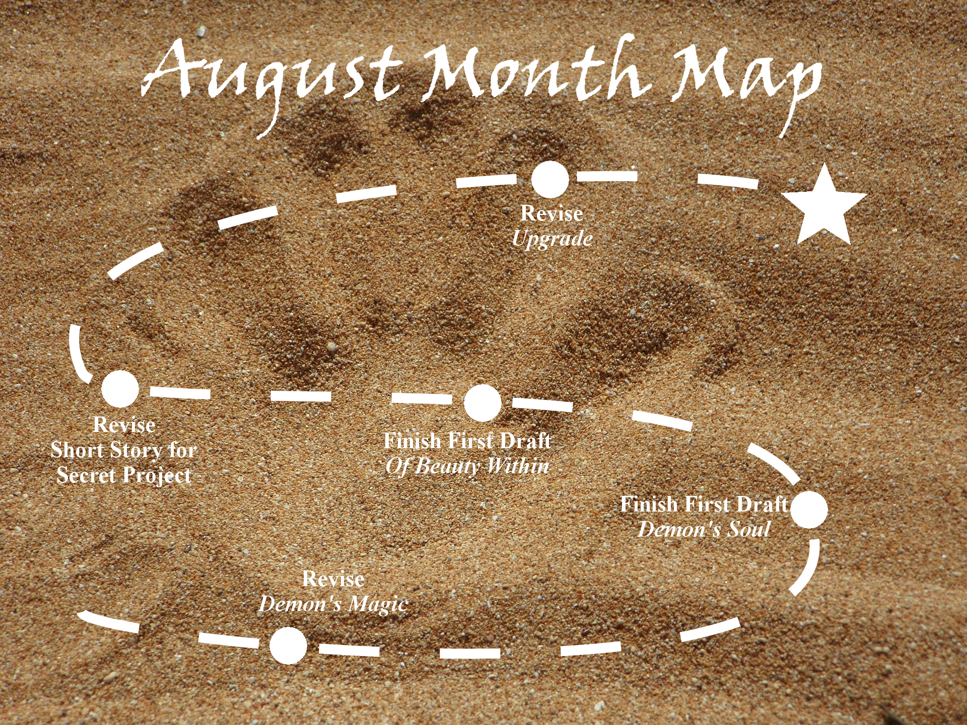 Ensign's Log, Entry 27: August Month Map