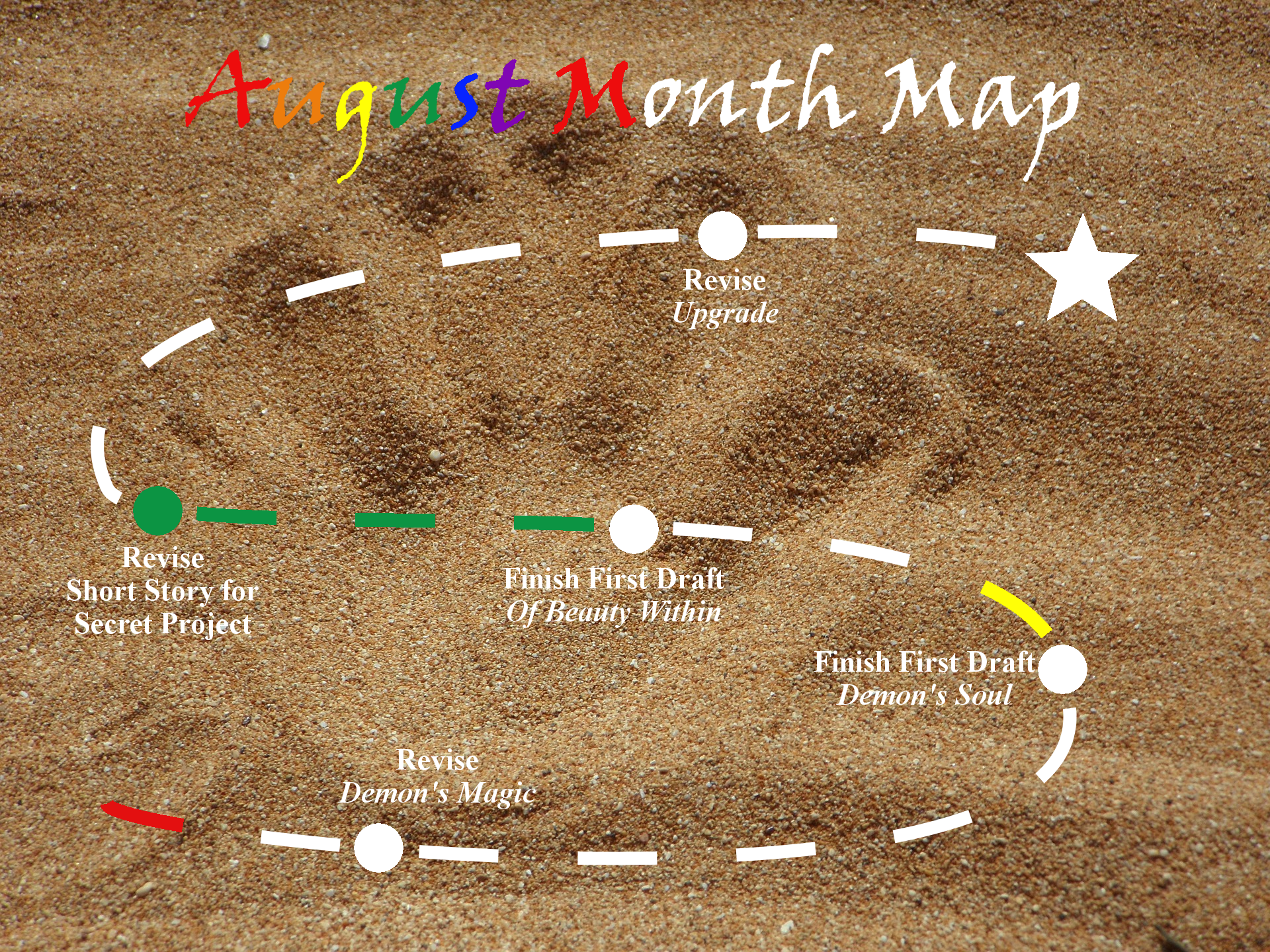 Ensign's Log, Entry 29: August Month Map–Week 2