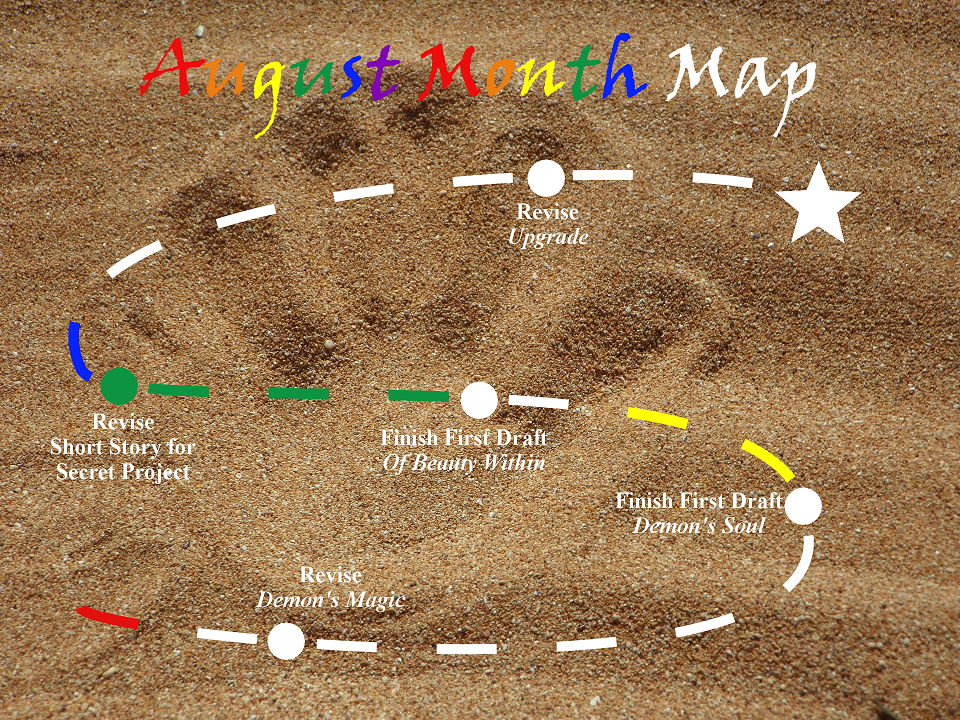 Ensign's Log, Entry 30: August Month Map–Week 3