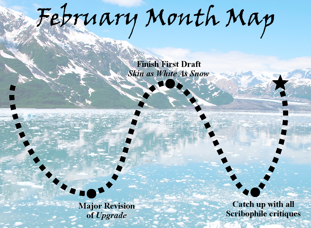 Ensign's Log, Entry 47: February Month Map!