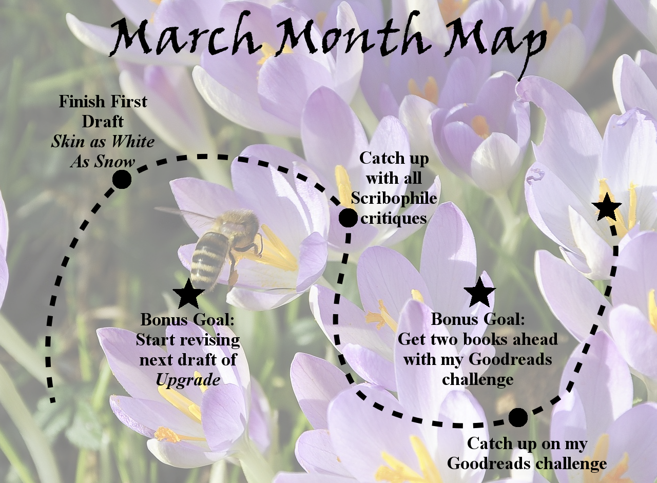 Ensign's Log, Entry 51: March Month Map