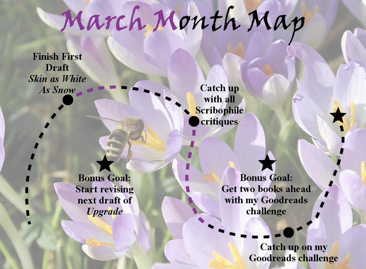 Ensign's Log, Entry 52: March Month Map, Week Two Update!