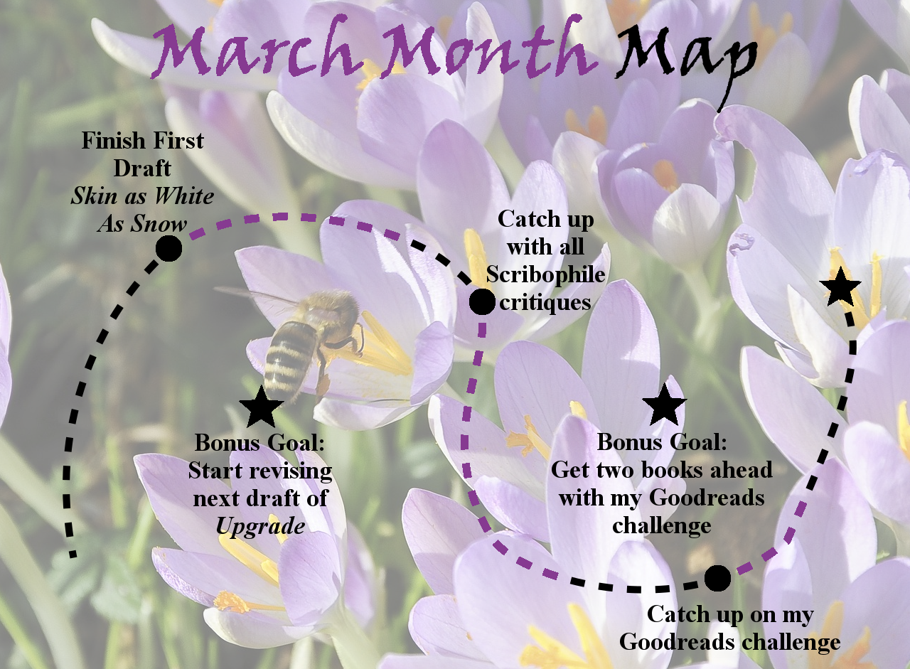 Ensign's Log, Entry 53: March Month Map, Week Three Update!