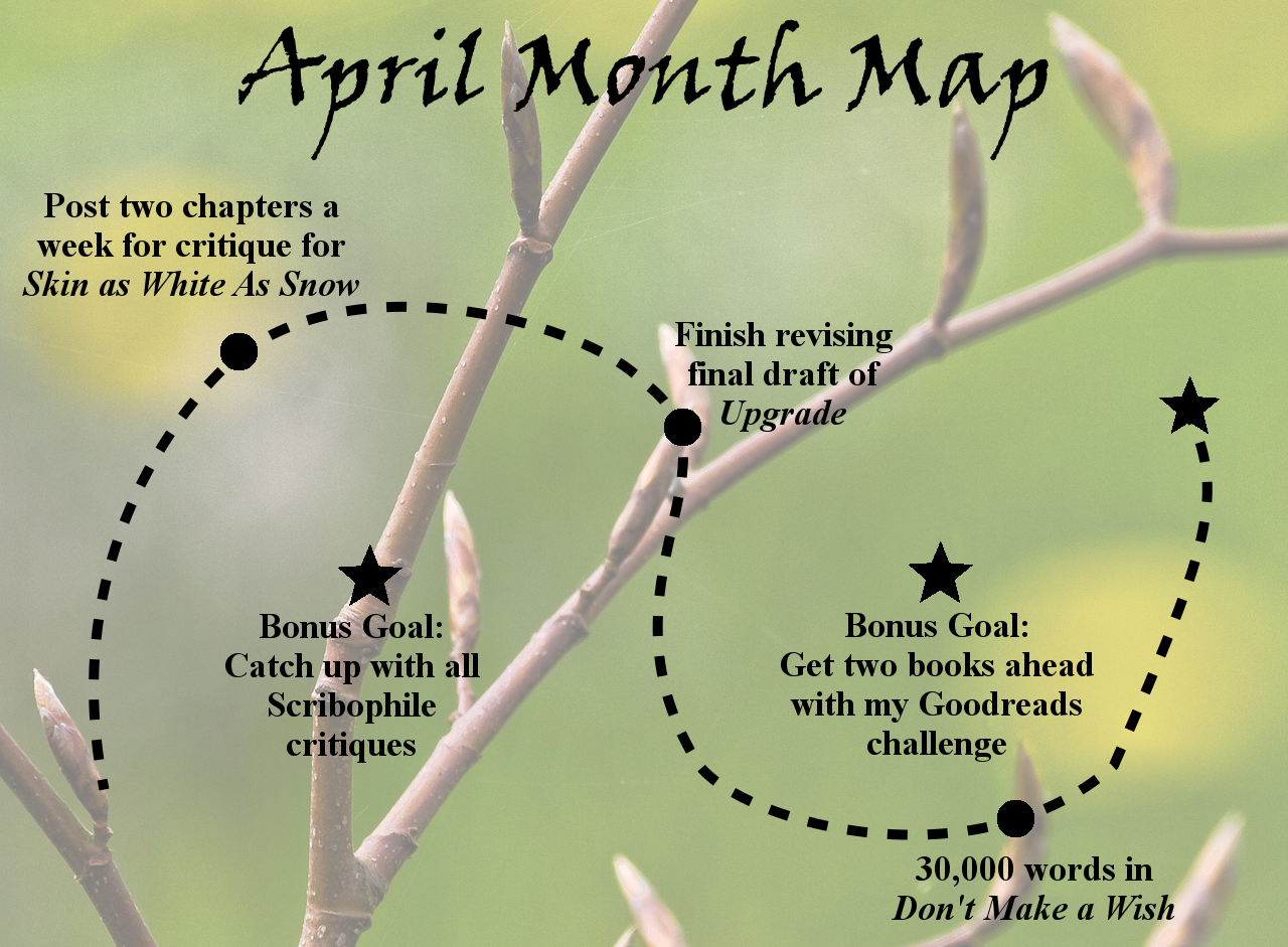 Ensign's Log, Entry 54: April Month Map and March's Wrap Up