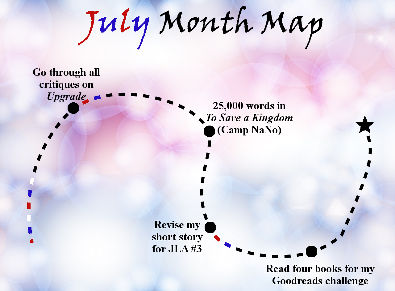 Lieutenant Junior Grade's Log, Entry 1: July Month Map!