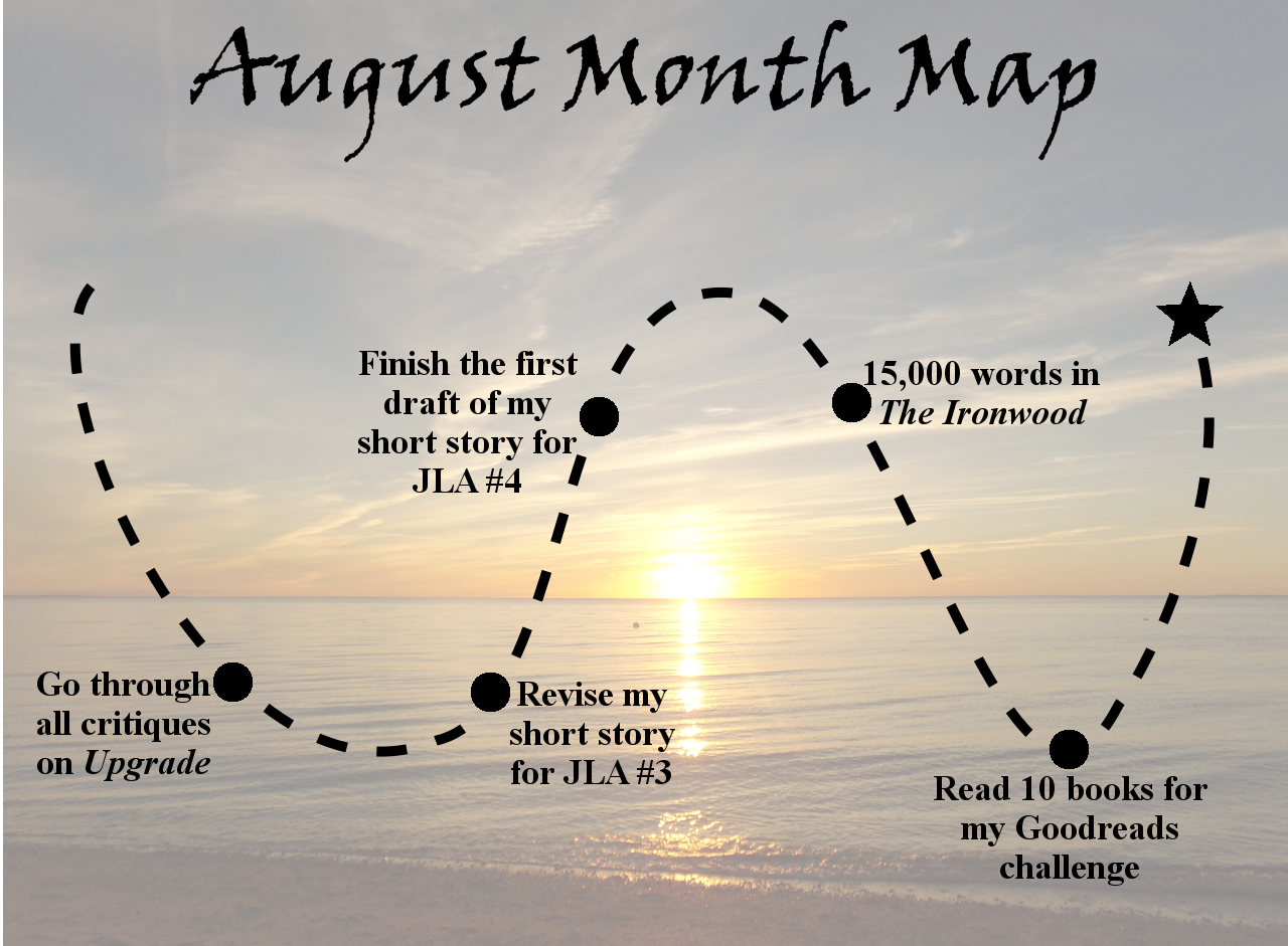 Lieutenant Junior Grade's Log, Entry 3: August Month Map and July Wrap-up!