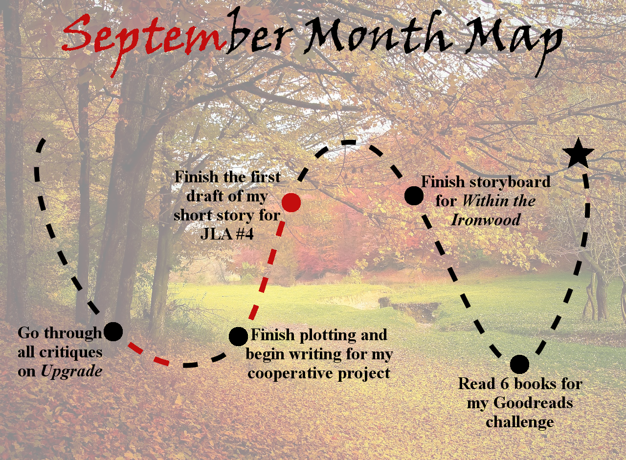Lieutenant Junior Grade's Log, Entry 4: September Month Map and August Wrap-up!