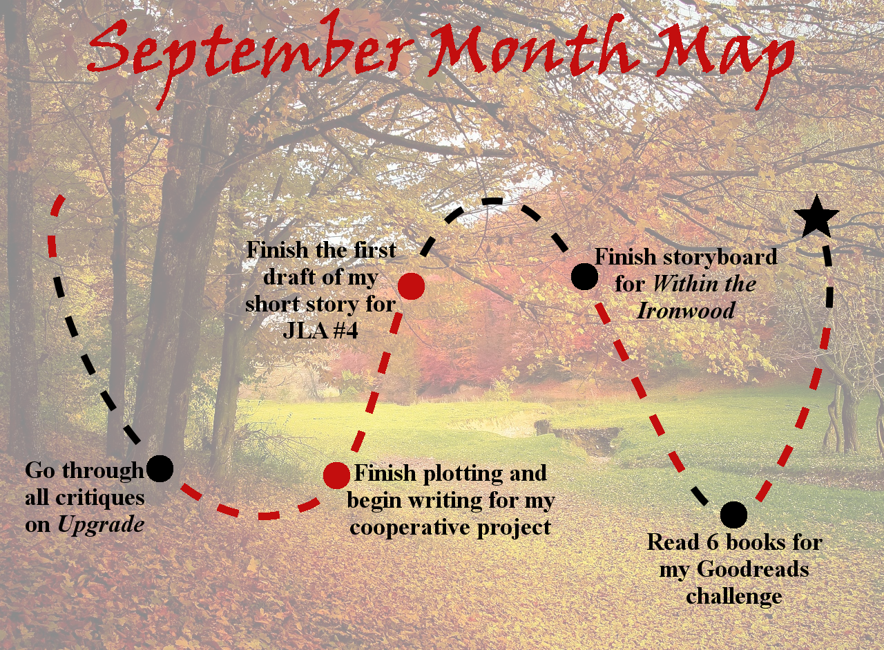 Lieutenant Junior Grade's Log, Entry 6: September Month Map Final Update!