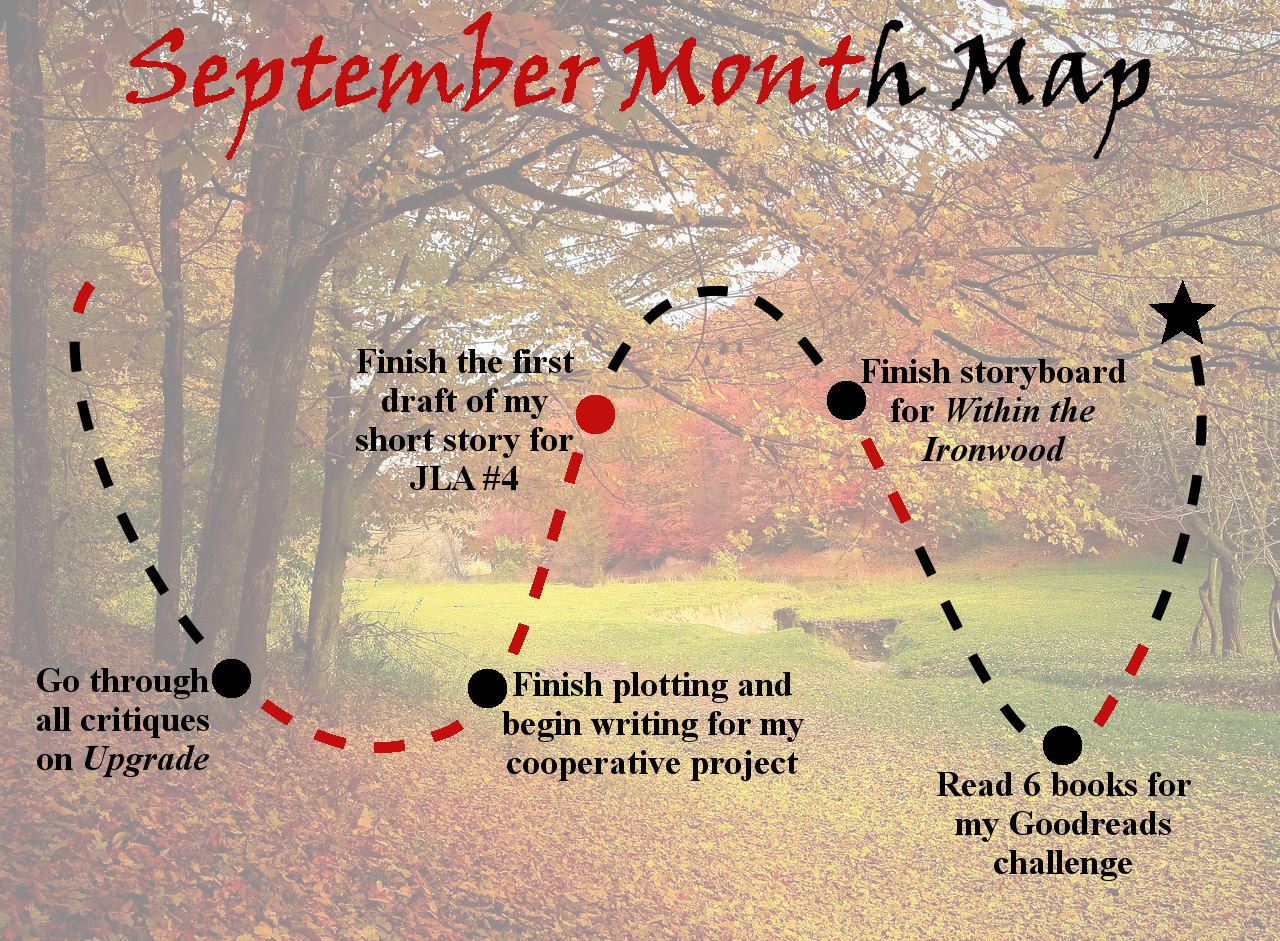 Lieutenant Junior Grade's Log, Entry 5: September Month Map Week Three Update!